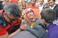 ERSIN YAZıCı - Şehit Polis Annesinin Ölüm Yıldönümünde Toprağa Verildi
