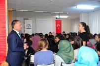 YOL HARITASı - Vali Yazıcı, Tecrübelerini Öğrencilerle Paylaştı