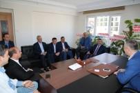 ALI GÜNGÖR - Başkan Akdoğan'dan Siyasi Parti Ve STK'lara Teşekkür Ziyareti