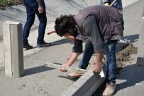 Başkan Bakıcı, Osmancık Caddesi'nde Devam Eden Kaldırım Çalışmalarını Yerinde İnceledi