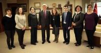 TÜRK DÜNYASI - Başkan Karaosmanoğlu, TEMA Vakfı İle Buluştu