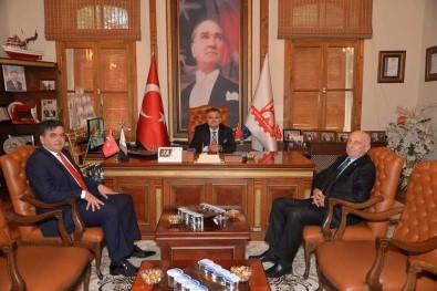 Başkan Yalçın'dan Başkan Yağcı'ya Ziyaret