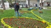 AHMET ÇELIK - Burhaniye'de Park Ve Refüjlere Belediye Güzelliği