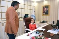 Ceylanpınar'da Başkanlık Koltuğuna İlkokul Öğrencisi Devraldı