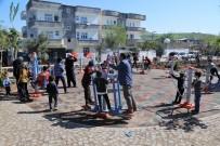 BOTAŞ - Cizreli Çocuklar Belediye Tarafından Yapılan Oyun Alanında Doyasıya Eğleniyor