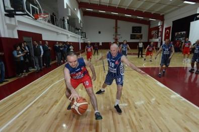Denizli Valisinden Basketbol Şov