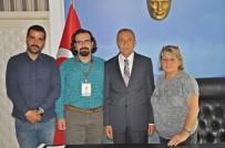 UFUK BAYRAKTAR - Haykonfed'en Başkan Özdemir'e Ziyaret