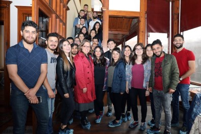 Menteşe Belediyesi ADÜ'lü Öğrencileri Ağırladı