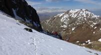 ŞELALE - Milli Dağcı Tunç Fındık Erek Dağı'na Tırmandı