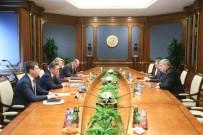 MÜZAKERE - Özbekistan Başbakan Yardımcısı İbragimov, Gazprom Başkanıyla Görüştü
