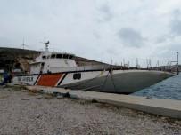BALIKÇI TEKNESİ - Sahil Güvenliğin Emektar Gemisi Çeşme'de Batırılacak