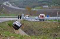 Sinop'ta Trafik Kazası Açıklaması 3 Yaralı