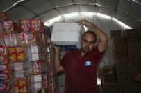AZEZ - Suriye'ye İnsanı Yardımlar Sürüyor