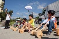 CAHIT ZARIFOĞLU - Tahta Araba Yarışlarına 120 Çocuk Katıldı