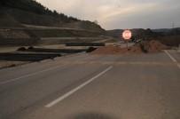 Tokat Çevre Yolunda Heyelan Tehlikesi Nedeniyle Çalışma Başlatıldı