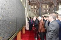 Tuvale Nakşedilmiş Kur'an-I Kerim, Dergah Camiide Sergileniyor