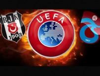 MANCHESTER CITY - UEFA'dan Beşiktaş ve Trabzonspor'a kötü haber