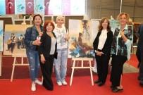 NURULLAH KAYA - Uluslararası Gazipaşa Sanat Sempozyumu Sergisi Açıldı