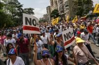 EKONOMIK KRIZ - Venezuela'daki Protestolarda Ölü Sayısı 11'E Yükseldi