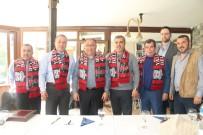 VEFA SALMAN - Yalova Group Belediyespor Veda Yemeğinde Bir Araya Geldi