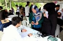 SAĞLIK TARAMASI - 120 Tıp Öğrencisi Kırsal Mahallede Sağlık Taraması Yaptı