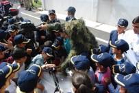 200 Öğrenci İl Jandarma Komutanlığını Ziyaret Etti