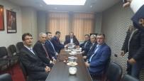 AK Parti Bilecik İl Başkanlığında Belediye Başkanları Bir Araya Geldi