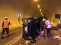 DEMIRKENT - Artvin'de Tünel İçinde Kaza Açıklaması 3 Yaralı