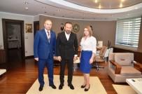 SEL FELAKETİ - Başkan Doğan'a Kardeş Belediyeden Ziyaret