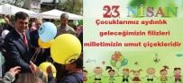 Başkan Muzaffer Yalçın'ın 23 Nisan Ulusal Egemenlik Ve Çocuk Bayramı Mesajı