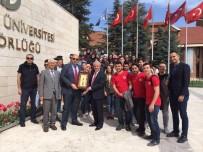 GÜNDOĞAN - Batı Trakyalı Öğrenciler Anadolu Üniversitesi'ni Ziyaret Etti