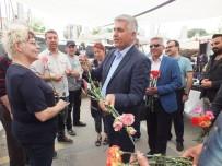 AVRUPALı - Belek Turizm Pazarı, Turizm Sezonunu Çiçeklerle Açtı