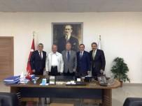 DENİZ BAYKAL - Deniz Baykal'dan Tekirdağ Büyükşehir Belediyesi'ne Ziyaret