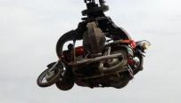 KAPKAÇ - Hurdaya Ayrılan Motosikletler Makine Ve Kimya Endüstrisi Kurumuna Ulaştırıldı