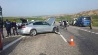 HASANCıK - İki Otomobil Çarpıştı Açıklaması 4 Yaralı