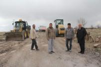 İncesu Belediyesi Bağ Yolları Islah Çalışmalarına Devam Ediyor