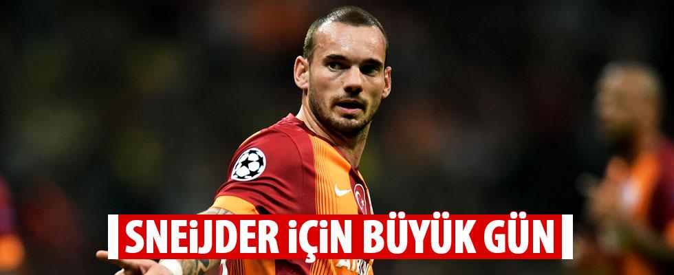 Kanarya avcısı Sneijder