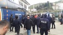 İSTANBUL BAŞAKŞEHİRSPOR - Başakşehirli futbolcular gazetecilere saldırdı