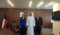 KUVEYT - Nezaket Atasoy, Kuveyt Sanayi Ve Ticaret Bakanı İle Görüştü