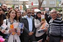 AHMET ÜMIT - Polisiye Yazarı Ahmet Ümit Kayseri'de