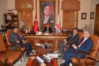 ŞEYH EDEBALI - Rektör Taş'dan Başkan Yağcı'ya Ziyaret