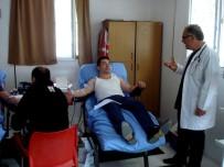 KAN BAĞıŞı - Sarıgöl'de 80 Ünite Kan Toplandı