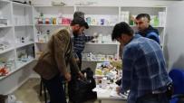 TIBBİ MALZEME - Suriyelilere Ait Kaçak Muayenehane Ortaya Çıkarıldı