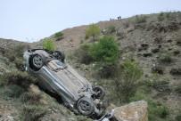 Uçuruma Yuvarlanan Otomobilden Sağ Çıktılar