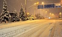 AFYONKARAHISAR - Uşak'a Meteorolojiden Kar Yağışı Uyarısı