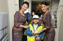 SOSYAL SORUMLULUK - 30 Öğrenci 23 Nisan'da İlk Kez Uçağa Bindi