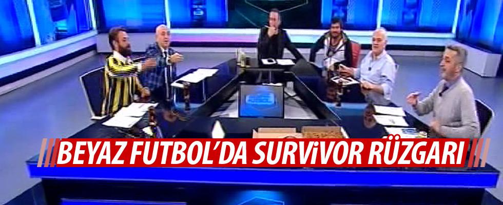 Beyaz Futbol'da Survivor rüzgarı