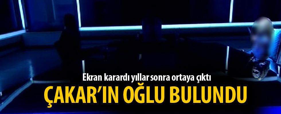 Ahmet Çakar'ın kaybolan oğlu bulundu