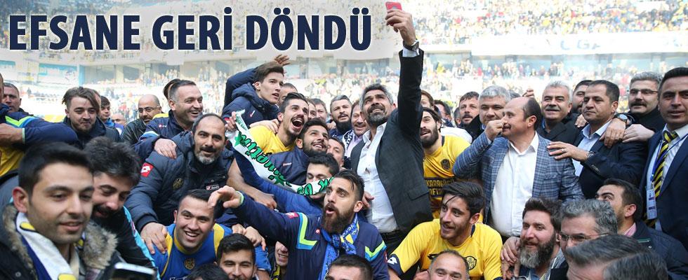 Ankaragücü 1. Lig'e geri döndü