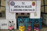VOTKA - Antalya'da Sahte İçki Operasyonu